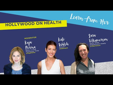 #Blogher18 Health - Hollywood and Health - Kate Walsh, Kaja Perina, Sara Vilkomerson
