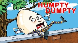 HUMPTY DUMPTY - Popular Nursery Rhymes - Music and Songs for kids, Children, Babie