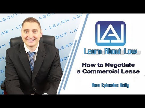 How To Negotiate A Commercial Lease | Learn About Law