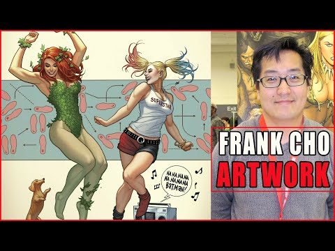 Frank Cho: Incredible Artwork & Sketches! Artist Spotlight #2