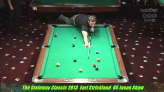 Earl Strickland Vs Jayson Shaw Steinway Classic 2013  Part2