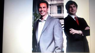 Richard Diamond (right) Paul Hesse (left) Manitoba Liberal Party potential leadership opponents