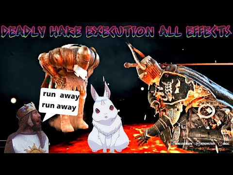 FOR HONOR Deadly Hare Execution ALL EFFECTS  