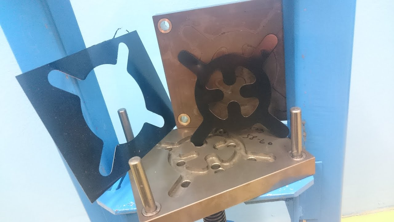 ★DIY★ - Homemade 12T Press and Custom made Punch Die