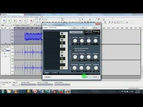 Audacity Tutorial: Professional and Simple Sound Mixing and