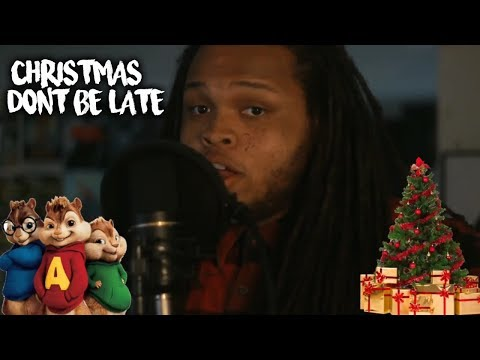 Christmas Don't Be Late (Chipmunks Song Cover)