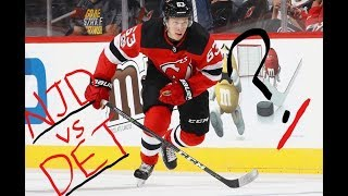 Devils vs Red Wings Preview (Game 36): Speed and Youth