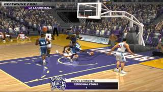 NBA LIVE 2003 -  Sacramento vs LA Lakers