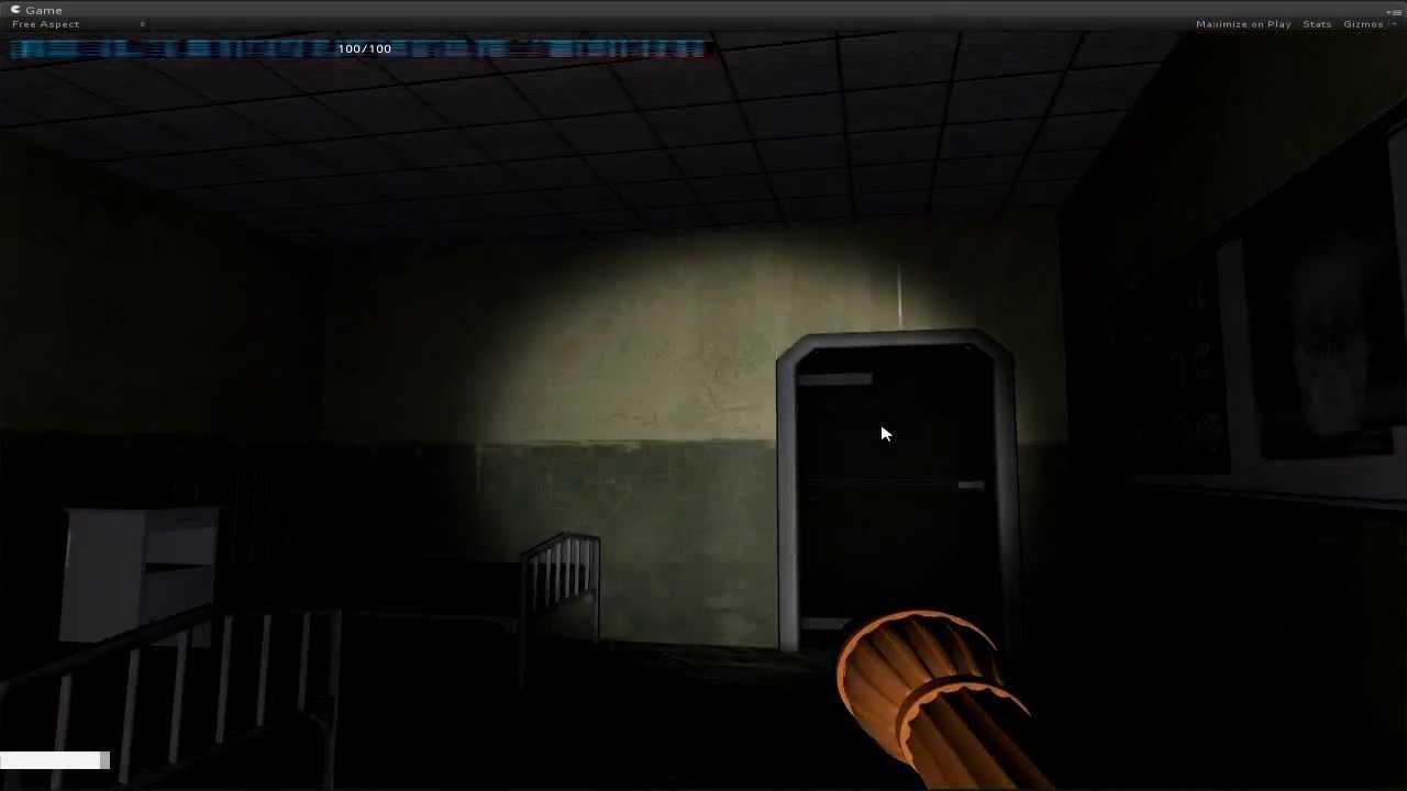 Unity 3d Horror Game First Peek Youtube