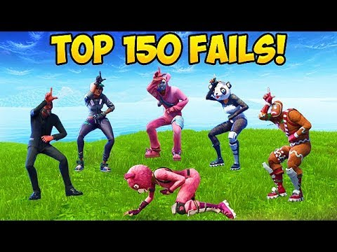TOP 150 *UNSEEN* FORTNITE FAILS & WINS!