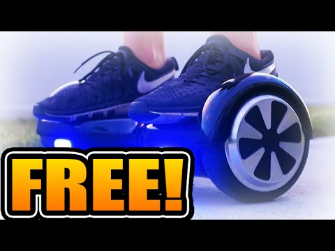 how to get a free hoverboard