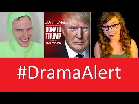 Trump Wins #DramaAlert IDubbbz & Casey Neistat - Laci Green RANT! Tyler Oakley SALT!