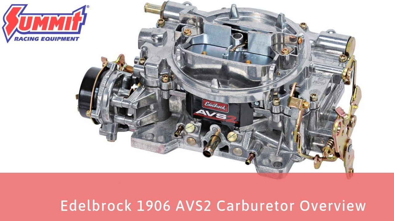 Edelbrock 1406 vs  1906 Carburetors