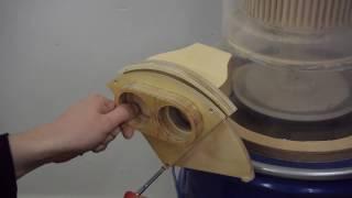 Sperrschieber bauen | Absauganlage | Werkstattsauger | Staubabsaugung | Späneabsaugung