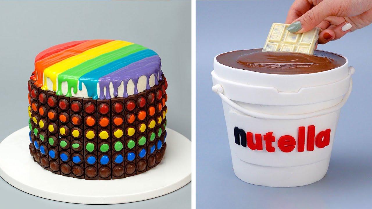 Quick & Easy Rainbow Chocolate Cake Recipes | Top 10 Satisfying Chocolate Cake Decorating Ideas