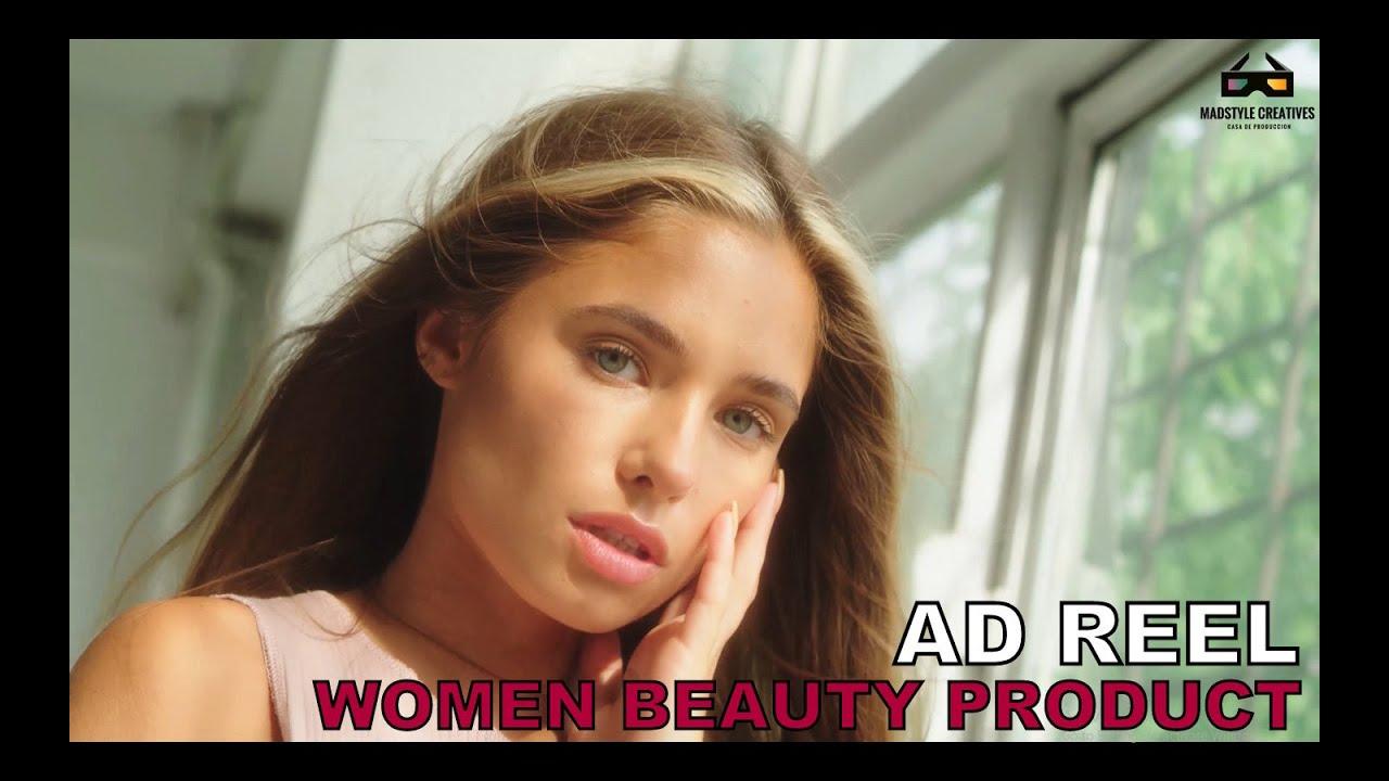 WOMEN BEAUTY PRODUCT | AD REEL