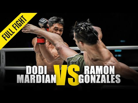 Dodi Mardian Vs. Ramon Gonzales | ONE Full Fight | October 2018