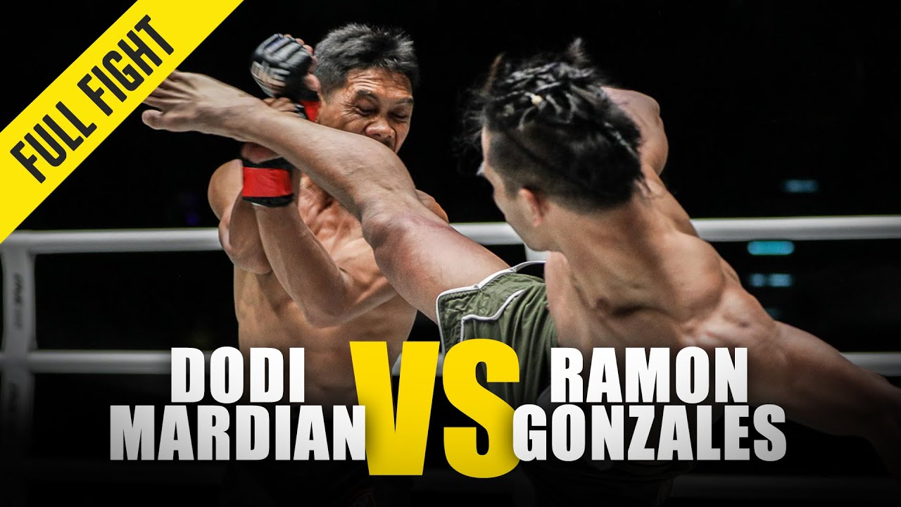 Dodi Mardian vs. Ramon Gonzales   ONE Full Fight   October 2018