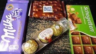 German Chocolate Taste Tests