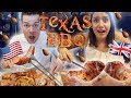 British FIRST TIME Trying Texas BBQ Food 🍗   Texas Series