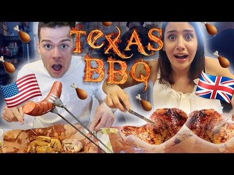 British FIRST TIME Trying Texas BBQ Food  | Texas Series