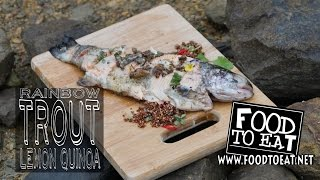 Rainbow Trout, Lemon Quinoa
