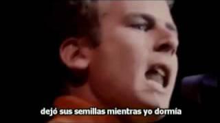 Sounds of Silence - Simon and Garfunkle Subtítulos Subtitulado Español