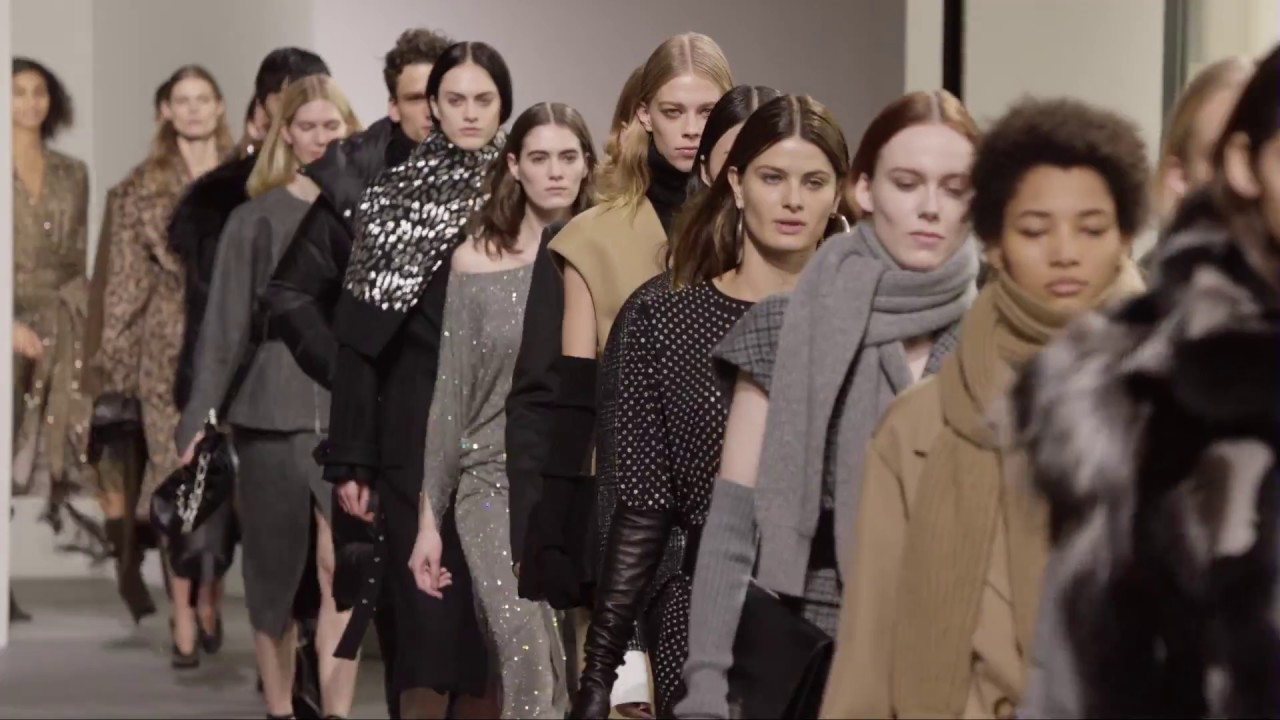 824bae658e90 Fall 2017 Michael Kors Collection Runway Show - YouTube