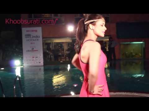 Hot Swimwear Round Mrs. India Worldwide 2014  Beautiful Girls
