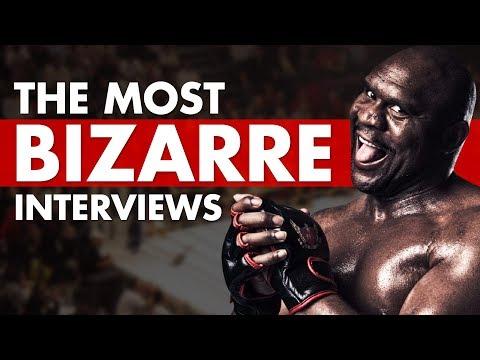 10 Most Bizarre Interviews In MMA History