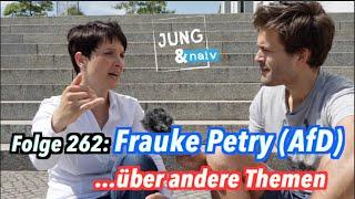 Frauke Petry (AfD) über andere Themen - Jung & Naiv: Folge 262