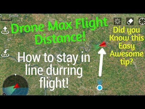 Dji Mavic air or Spark Tip on How to maximize flight distance!