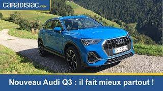 Essai Audi Q3 2019 : le sens de la famille