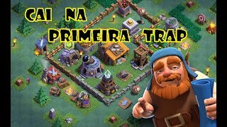 Clash of Clans - Primeira armadilha na base do construtor