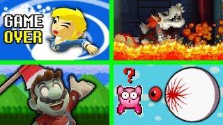 Los Game Over mas Subidos de Tono en Videojuegos Felices