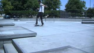 Aaron Kyro manual line Brailleskateboarding.com Clip of the week #6