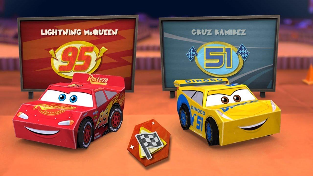 Disney Cars 3 Cardboard Demolition Derby Lightning Mcqueen Online
