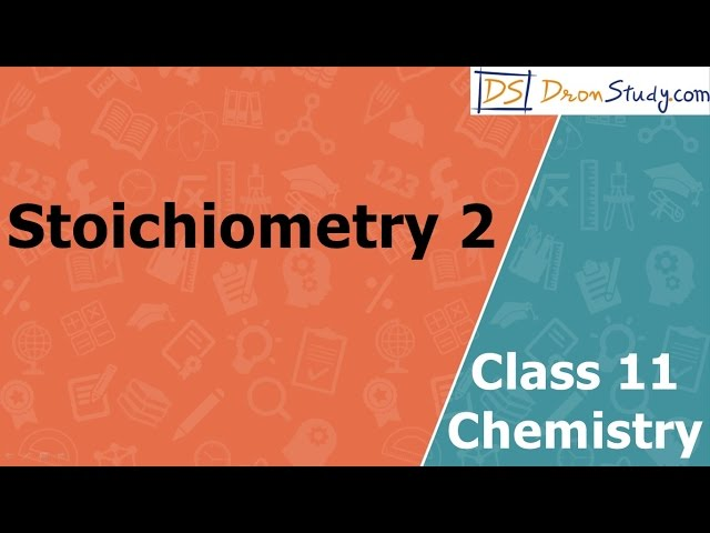 Stoichiometry Acid Base Defination | Class 11 XI Chemistry | CBSE | IIT-JEE | AIPMT