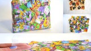Лоскутные ткани из обрезков