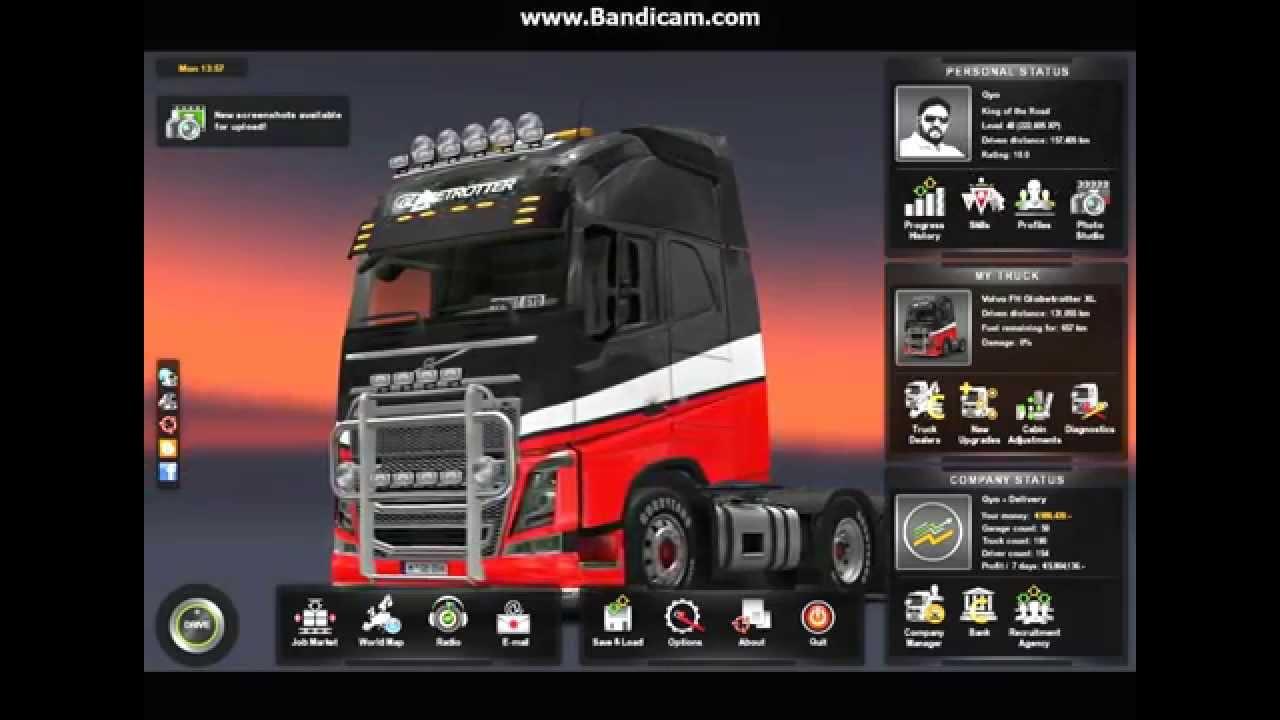 ETS Euro Truck Simulator 2 SAVEGAME version 1 16 April 2015 Download