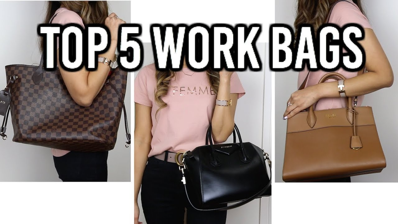 Top 5 Designer Work Bags Louis Vuitton Neverfull Givenchy Antigona And More Isabelle Ahn