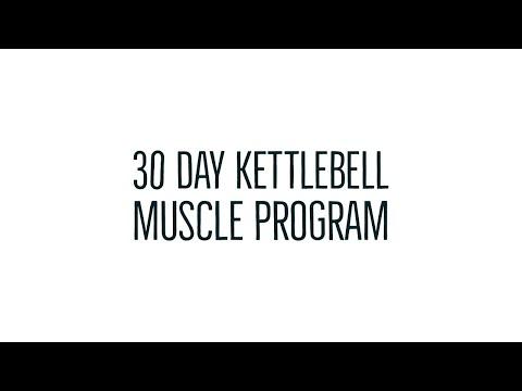 4 Week Kettlebell Program Build Muscle!