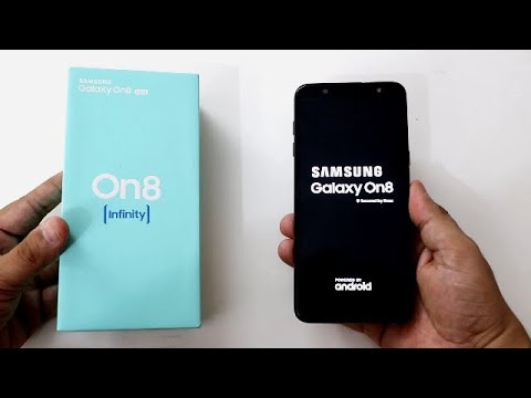 hot sale online 30dbb d167a Samsung Galaxy On8 Infinity (2018) Unboxing And Review I Hindi
