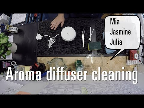 How to clean your essential oil / aroma diffuser