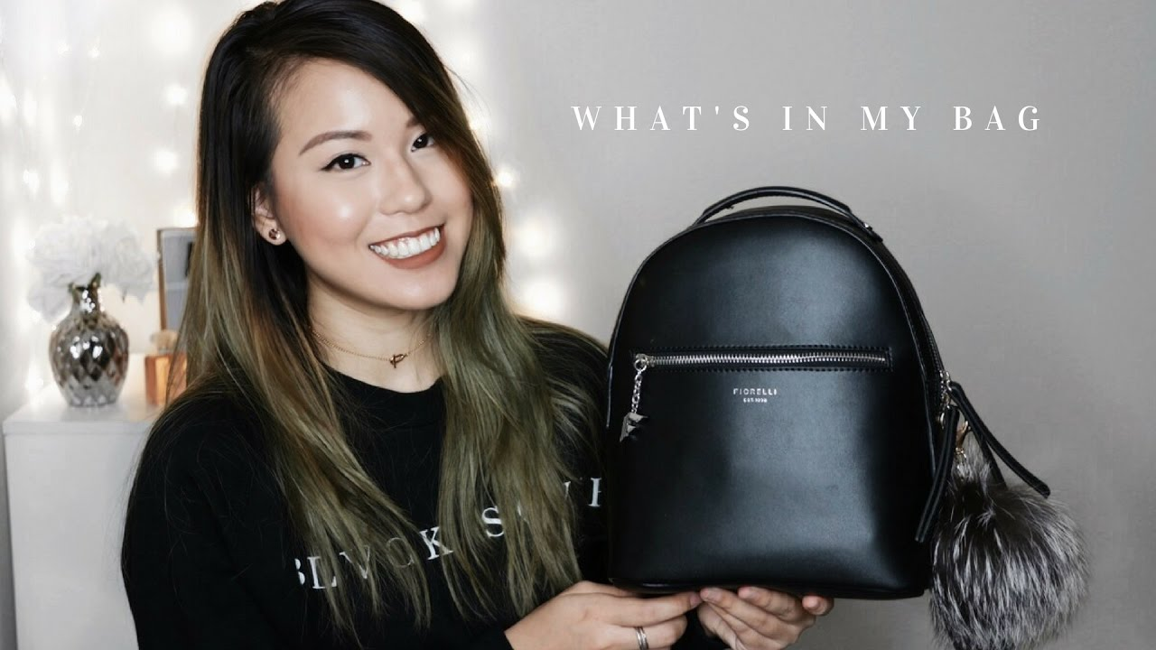 WHAT S IN MY BAG 2017