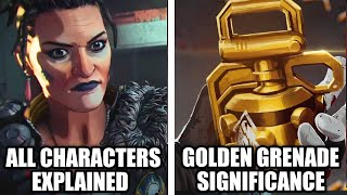 "Apex Legends ""Good As Gold"" Explained - New Characters, Fuse Backstory & Predictions!"