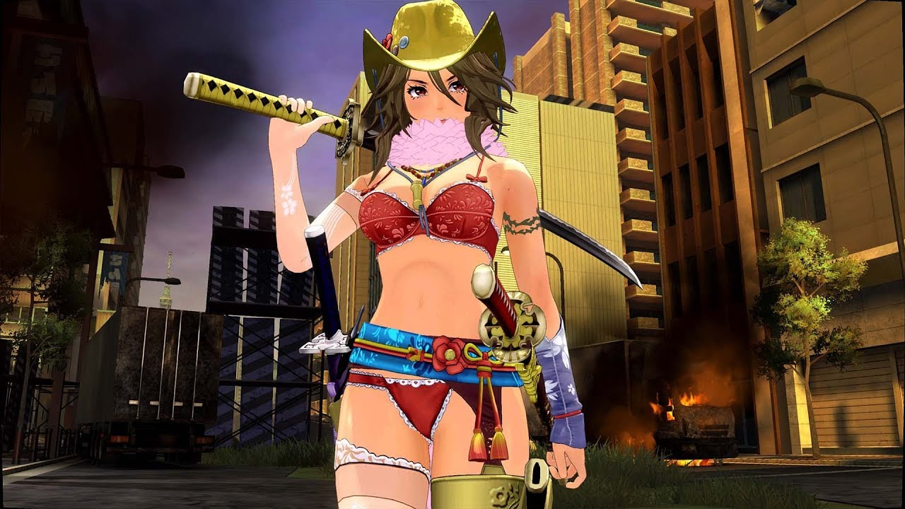 Onechanbara Origin First Ps4 Gameplay Part 3 Youtube