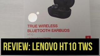 Lenovo HT10 TWS Review: Auriculares inalámbricos para Android