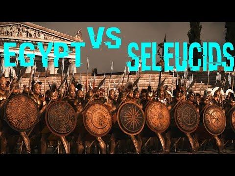 Egypt vs Seleucid Empire - Rome 2 Total War Online