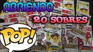 (UNBOXING) ABRIENDO 20 FUNKO POPS CARDS , TARJETAS FUNKO FIGURARTE
